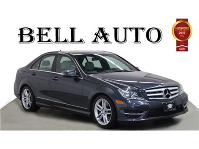 2013 MERCEDES-BENZ C-CLASS C 300 4MATIC PARK ASSIST SUNROOF LEATHER in Toronto, Ontario