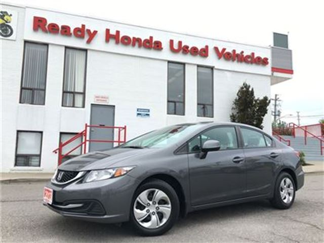 2013 HONDA CIVIC LX - Auto - Bluetooth in Mississauga, Ontario