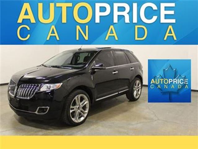 2013 LINCOLN MKX NAVIGATION PANORAMIC ROOF LEATHER in Mississauga, Ontario