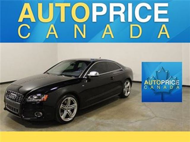2011 AUDI S5 4.2 (M6) PANORAMIC ROOF LEATHER in Mississauga, Ontario