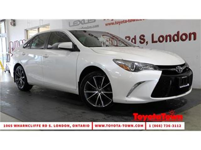 2015 TOYOTA CAMRY XSE REMOTE START NAVIGATION ALLOYS in London, Ontario