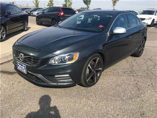 2015 VOLVO S60 T6 R-Design AWD A Platinum LEASE RETURN, CLEAN CAR in Mississauga, Ontario
