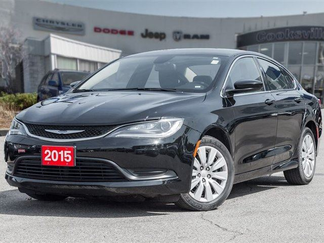 2015 CHRYSLER 200 LX, TRADE IN! in Mississauga, Ontario