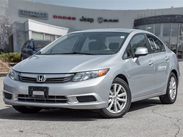 2012 HONDA CIVIC EX, CERTIFIED, AUTO in Mississauga, Ontario