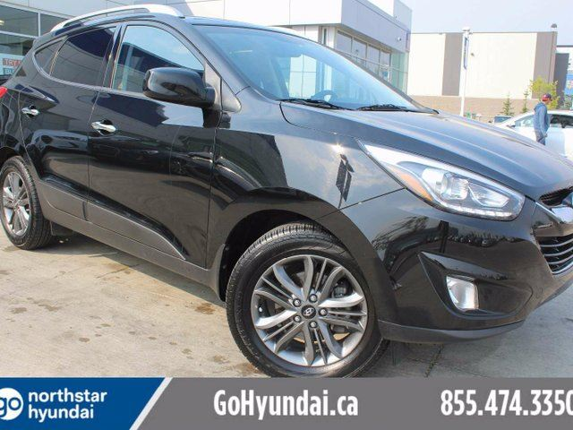 2015 HYUNDAI TUCSON GLS LEATHER SUNROOF BACK-UP CAM in Edmonton, Alberta