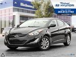 2014 Hyundai Elantra GLS Sunroof Rear Camera in Winnipeg, Manitoba