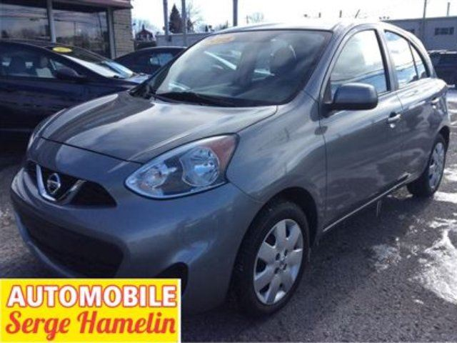 2015 Nissan Micra SV camera recule cruise garantie in Chateauguay, Quebec