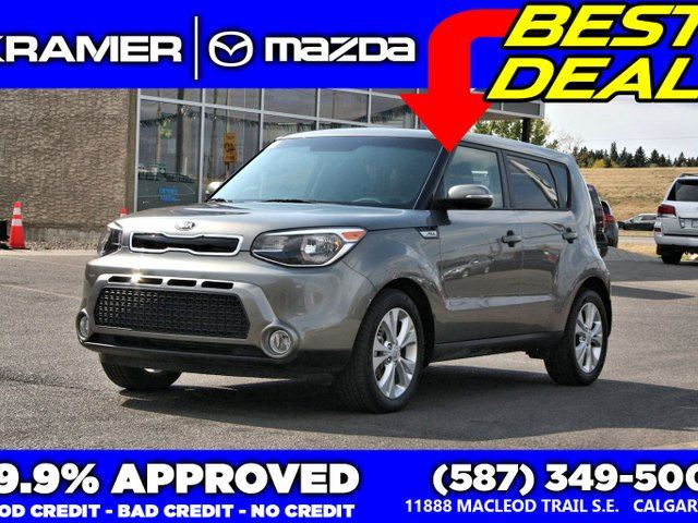 2016 KIA SOUL EX w/Bluetooth & Heated Seats in Calgary, Alberta