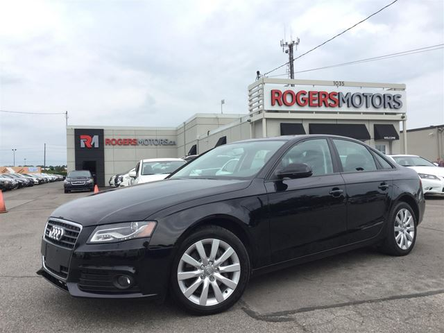 2012 AUDI A4 2.0T QTRO - LEATHER - SUNROOF in Oakville, Ontario