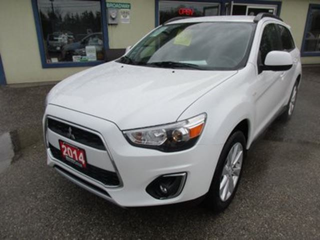 2014 MITSUBISHI RVR POWER EQUIPPED LIMITED EDITION 5 PASSENGER 2.0L in Bradford, Ontario