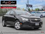 2014 Chevrolet Cruze ONLY 4,472KM!!!! **NOT A MIS-PRINT** CLN CARPROOF in Scarborough, Ontario