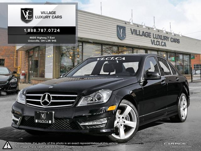 2014 MERCEDES-BENZ C-CLASS NAVIGATION | BLIND SPOT ASSIST | ULTRA LOW MILEAGE in Markham, Ontario