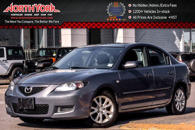 2009 MAZDA MAZDA3 GS Manual CruiseControl AC PwrWndws 16Alloys GREAT DEAL! in Thornhill, Ontario