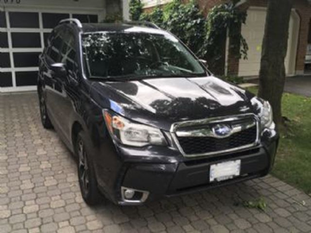 2015 SUBARU FORESTER 5dr Wgn CVT 2.0XT Limited w/Tech Pkg in Mississauga, Ontario