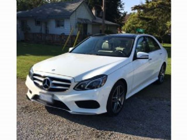 2016 MERCEDES-BENZ E-Class 4dr Sdn C400 4MATIC ~SHORT TERM ~ in Mississauga, Ontario