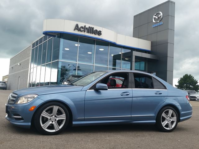 2011 MERCEDES-BENZ C-CLASS C 250, Leather, Loaded in Milton, Ontario