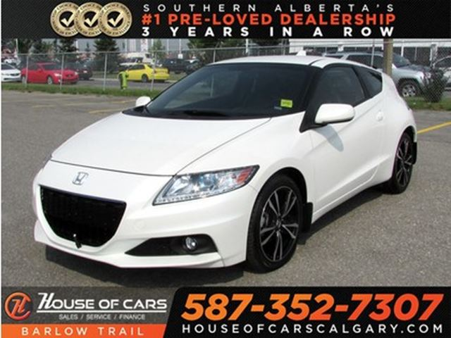 2015 HONDA CR-Z Premium / Navi / Leather / Bluetooth in Calgary, Alberta