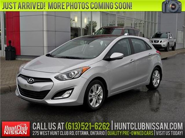 2013 HYUNDAI ELANTRA GLS   Pano Moonroof, Htd Seats, Bluetooth in Ottawa, Ontario