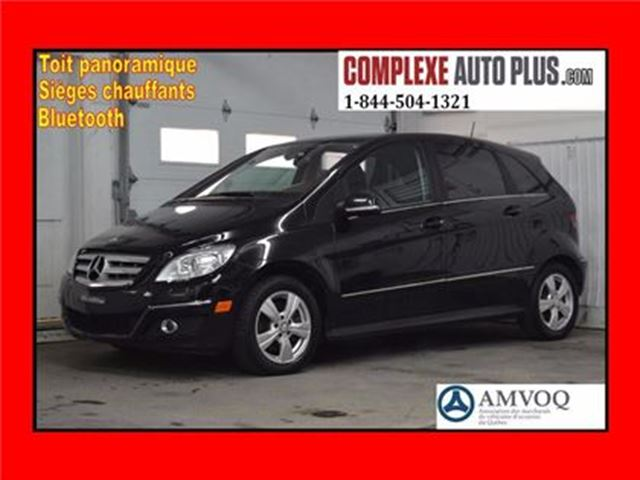 2011 Mercedes-Benz B-Class 200 *Toit Panoramique, Mags, Fogs in Saint-Jerome, Quebec