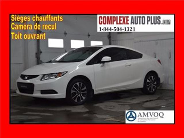 2013 Honda Civic EX *Toit ouvrant/Mags/Bluetooth in Saint-Jerome, Quebec