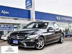 2015 Mercedes-Benz C-Class *C 300 4Matic AWD Pano Sunroof Navi in Ajax, Ontario