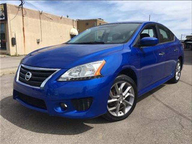 2013 NISSAN SENTRA 1.8 SR SUN ROOF HEATED SEATS & MIRRORS in St Catharines, Ontario