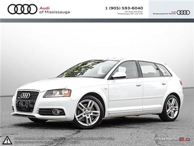2011 AUDI A3 2.0T (S tronic) in Mississauga, Ontario