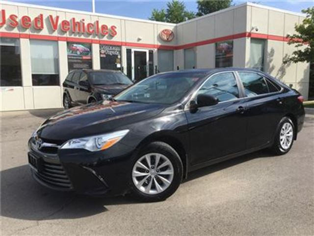 2016 TOYOTA CAMRY LE, BACKUP CAM, KEYLESS ENTRY, BLUETOOTH in Toronto, Ontario
