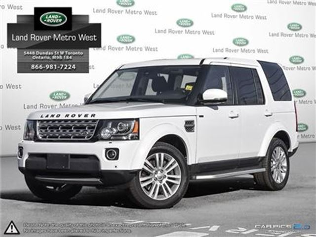 2015 LAND ROVER LR4 HSE LUXURY 2.9% FOR 72MTH, WTY TO 160,000KM in Toronto, Ontario