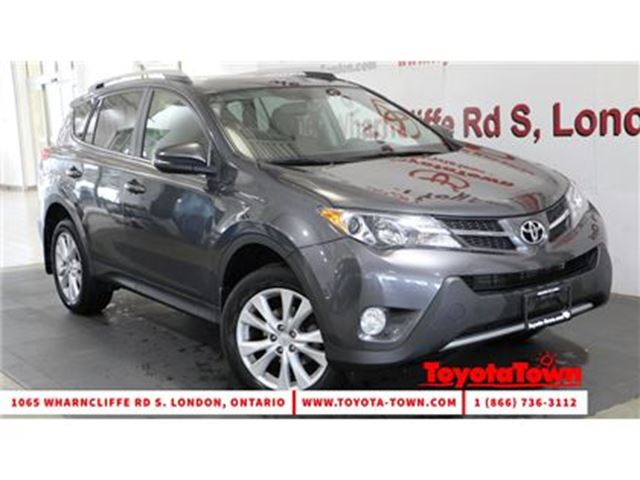 2013 TOYOTA RAV4 AWD LIMITED LEATHER NAVIGATION in London, Ontario