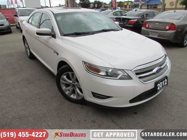 2012 FORD TAURUS SEL   AWD   LEATHER   SUNROOF   BACKUP CAM in London, Ontario
