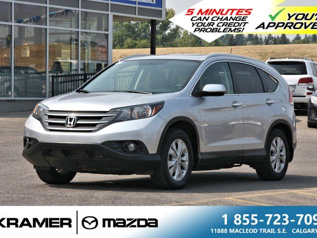 2012 HONDA CR-V Touring w/2 Sets of Tires in Calgary, Alberta