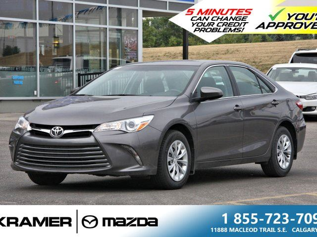 2016 TOYOTA CAMRY LE w/Bluetooth & Back-up Camera in Calgary, Alberta