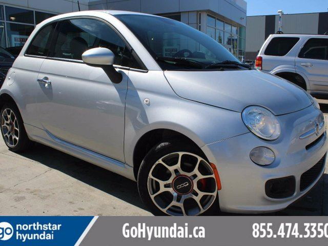 2014 FIAT 500 Sport A/C HALF LEATHER POWER OPTIONS in Edmonton, Alberta