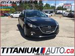2014 Mazda MAZDA3 GS+Camera+GPS+Sunroof+Heated Seats+Fog Lights+Sky+ in London, Ontario