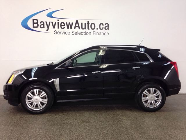 2013 CADILLAC SRX - BLACK ON BLACK LEATHER! HEATED SEATS! ONSTAR!  in Belleville, Ontario