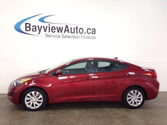 2013 HYUNDAI ELANTRA GLS - CLEAN TRADE! BLUETOOTH! PWR GROUP! CRUISE!  in Belleville, Ontario
