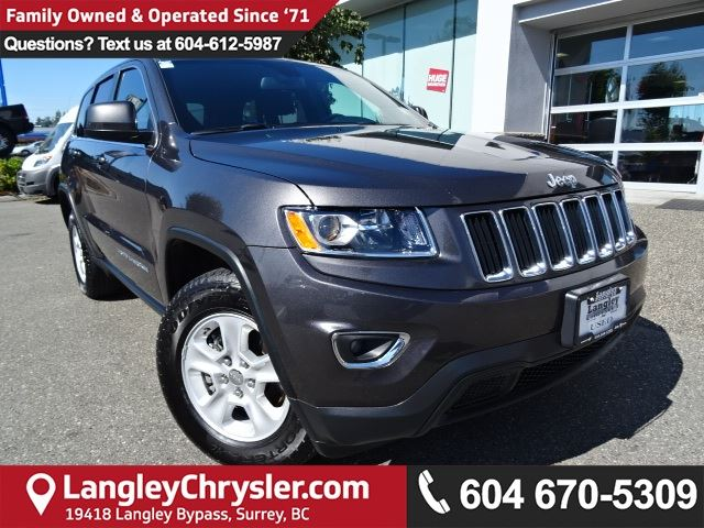 2016 JEEP GRAND CHEROKEE Laredo in Surrey, British Columbia
