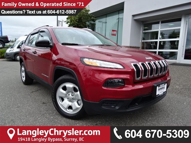 2016 JEEP CHEROKEE Sport in Surrey, British Columbia