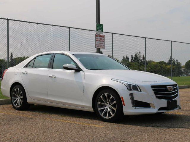2016 CADILLAC CTS AWD CRYSTAL WHITE FINANCE AVAILABLE in Edmonton, Alberta