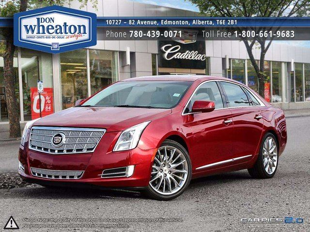 2013 CADILLAC XTS Platinum AWD LOADED SUPER LOW KM FINANCE AVAILABLE in Edmonton, Alberta
