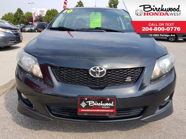 used 2010 toyota corolla s winnipeg. Black Bedroom Furniture Sets. Home Design Ideas