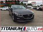2014 Mazda MAZDA3 Sport+GS+Camera+GPS+BlueTooth+New Tires & Brakes++ in London, Ontario