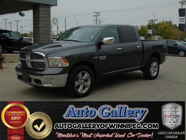 2016 DODGE RAM 1500 Big Horn 4x4 *Nav in Winnipeg, Manitoba