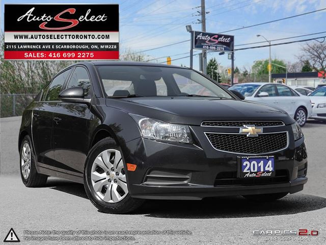 2014 CHEVROLET Cruze ONLY 33K! **SUNROOF**CLN CARPROOF**BACK-UP CAMERA in Scarborough, Ontario