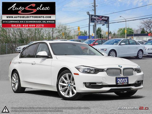 2013 BMW 3 Series xDrive AWD ONLY 93K! **CLEAN CARPROOF** MODERN PKG in Scarborough, Ontario