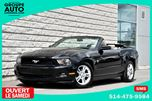 2010 Ford Mustang V6*AUTOM*CONVERTIBLE*NOIR*TRES PROPRE*BAS KILO* in Longueuil, Quebec