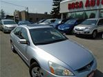 2005 Honda Accord EXL SUNROOF AUX NO RUST PW,PL,PS SAFETY+ E-TEST in Oakville, Ontario