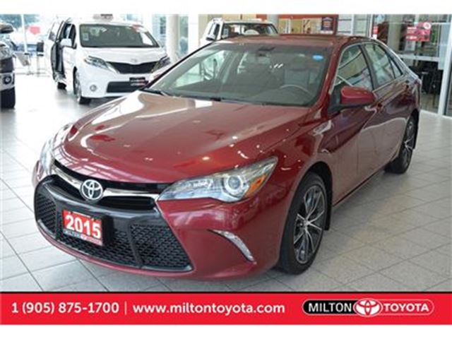 2015 Toyota Camry XSE, Navigation, Moonroof, Push Start, 4 new tires in Milton, Ontario