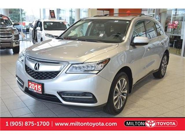 2015 Acura MDX AWD, Leather, Push Start, Navigation Package in Milton, Ontario